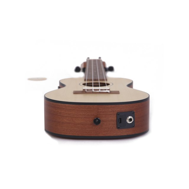 Sapele wood Tenor  Ukulele  w/ eq (Includes bag) - BAMBOO • Shop Online