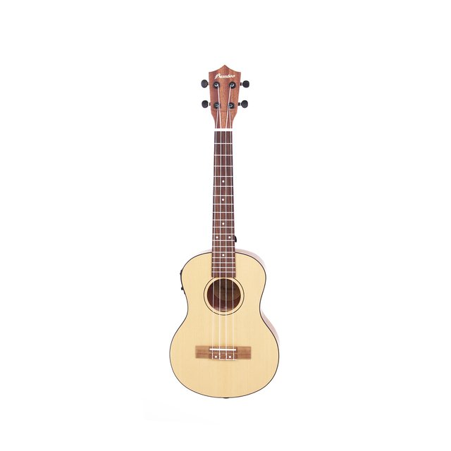 Sapele wood Tenor  Ukulele  w/ eq (Includes bag) - comprar online
