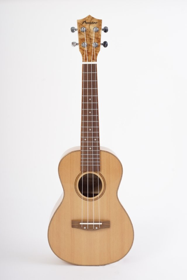 Ukelele Solid Spruce Concierto - BAMBOO • Shop Online