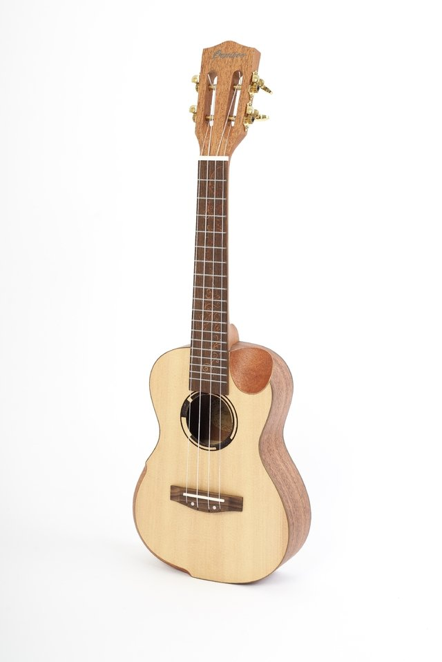 UKELELE THE QUEEN CONCIERTO CON EQ FISHMAN - BAMBOO • Shop Online