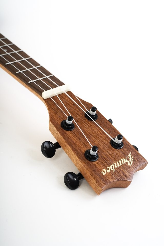 SAPELE wood concert Ukulele  w/eq (Includes bag) - BAMBOO • Shop Online