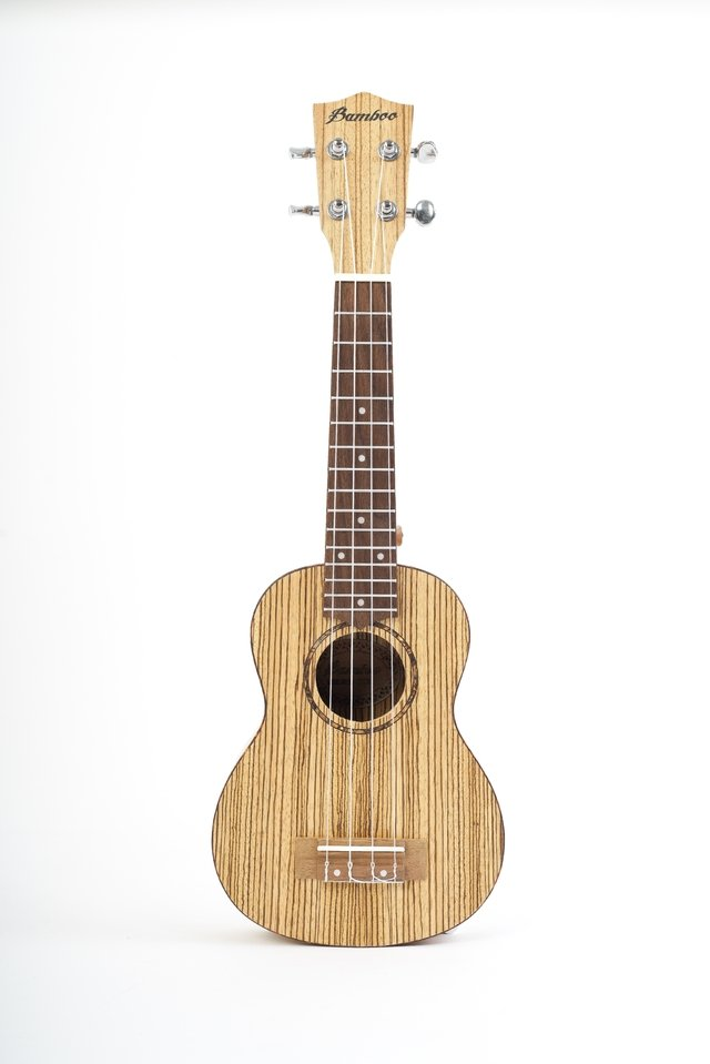 Zebrano wood Soprano Ukulele (includes bag) - buy online