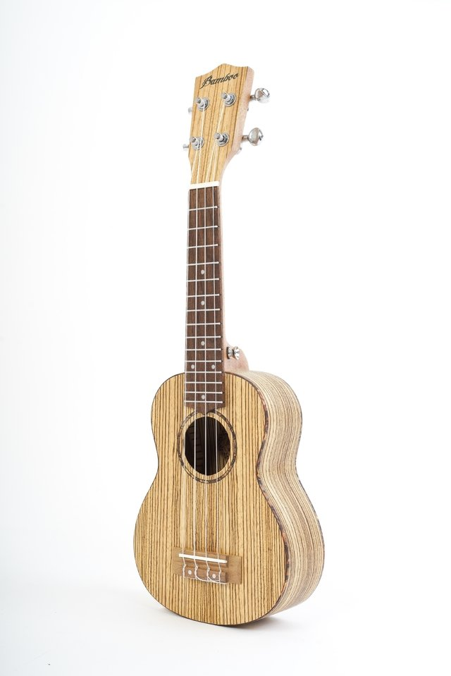 Zebrano wood Soprano Ukulele (includes bag) on internet