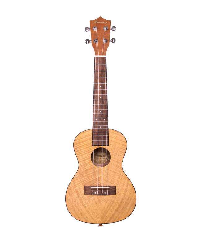 Exotic Mahogany wood Concert Ukulele (Includes Gig bag)