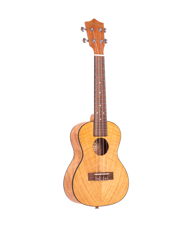 Exotic Mahogany wood Concert Ukulele (Includes Gig bag) - buy online