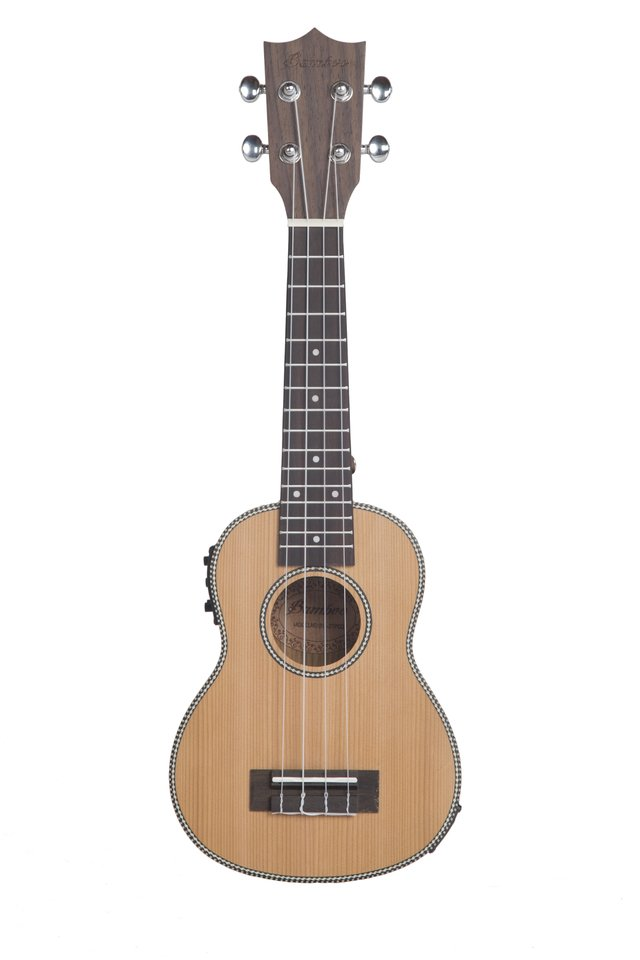 KOREAN PINE wood soprano Ukulele w/eq (Includes bag) - buy online