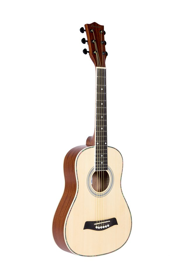 Guitarra Mini Acústica NAT  (incluye funda acolchada)
