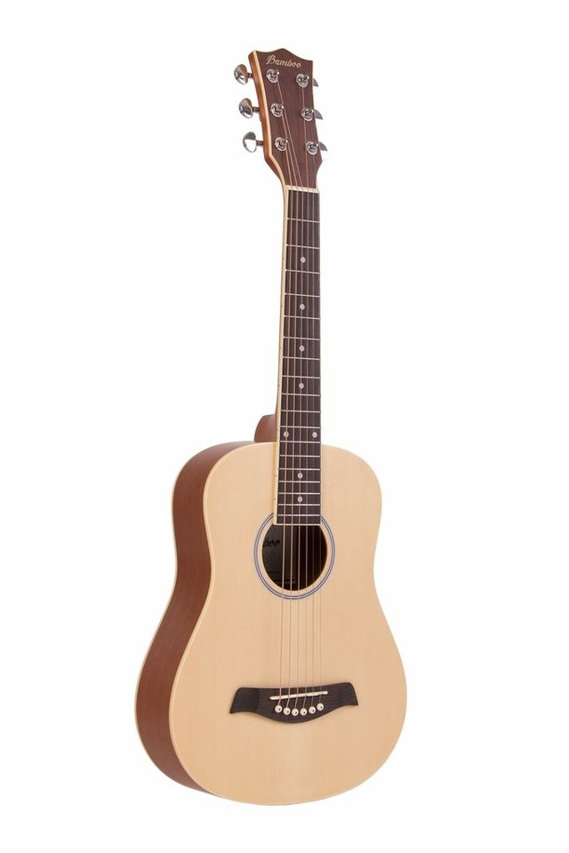 Guitarra Mini Acústica Natural c/eq (incluye funda acolchada)