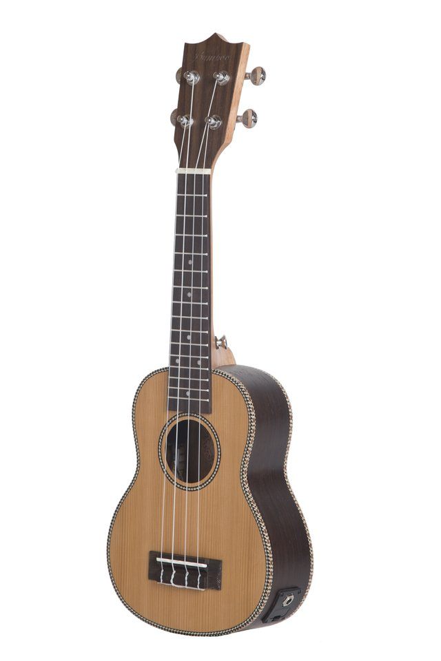 KOREAN PINE wood soprano Ukulele w/eq (Includes bag) on internet