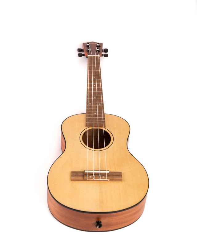 Sapele wood Tenor  Ukulele  w/ eq (Includes bag) (copia) - online store