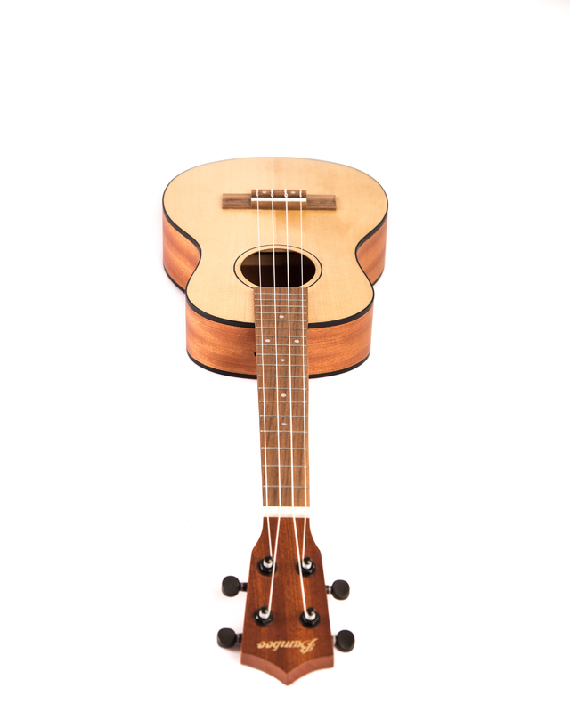 Image of Sapele wood Tenor  Ukulele  w/ eq (Includes bag) (copia)