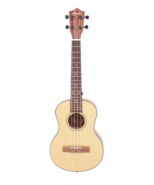 Pine wood Concert Ukulele  w/ eq (Includes bag)  - buy online
