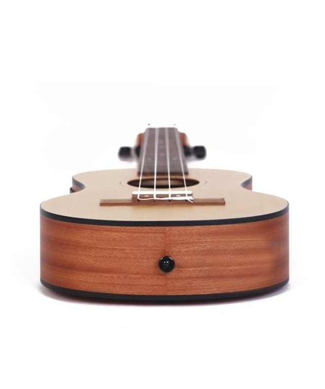 Pine wood Concert Ukulele  w/ eq (Includes bag)  on internet