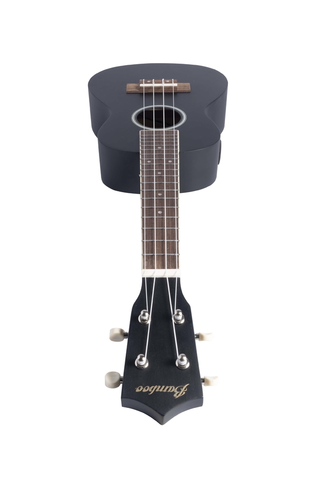 Image of Black Linden wood Concert Ukulele w/eq (Includes Gig bag)