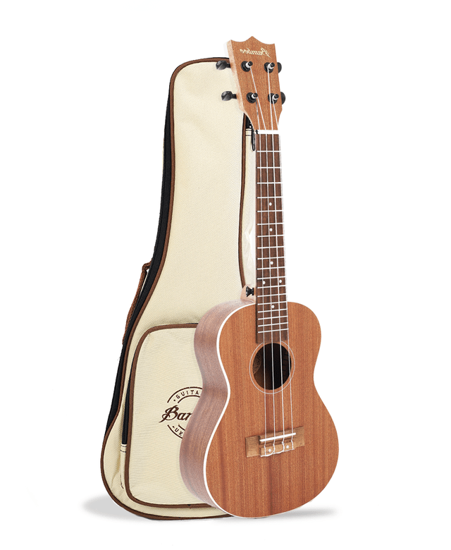 Sapele wood Concert Ukulele (Includes bag) - BAMBOO • Shop Online