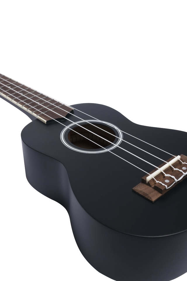 Image of Black Mahogany wood Soprano Ukulele