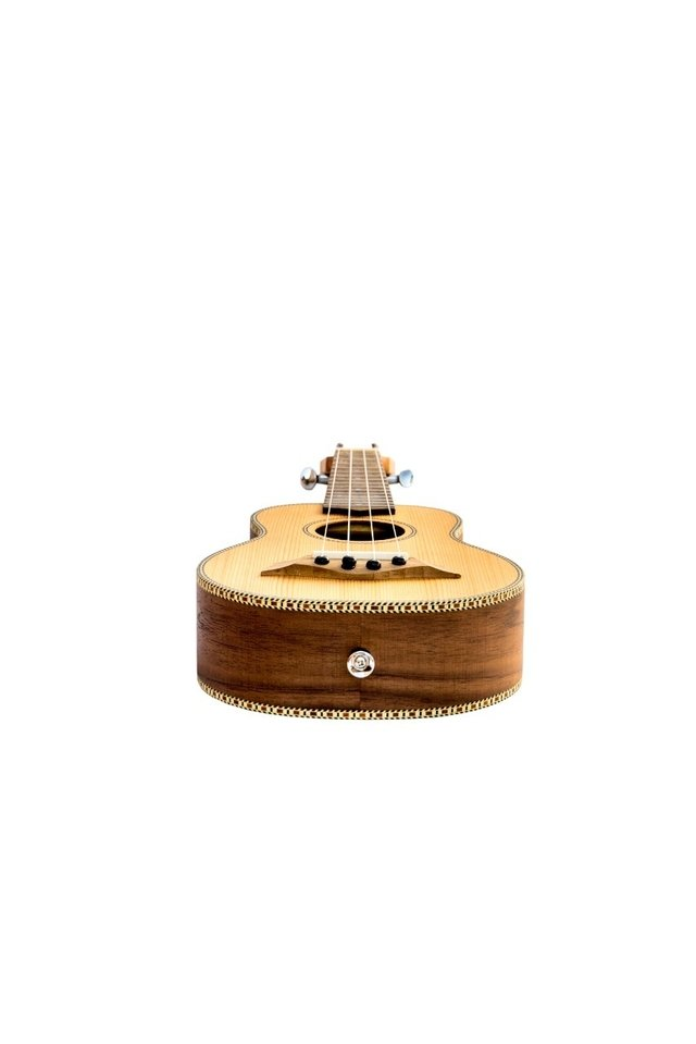 Solid Cedar wood Soprano Ukulele (Includes bag) - BAMBOO • Shop Online