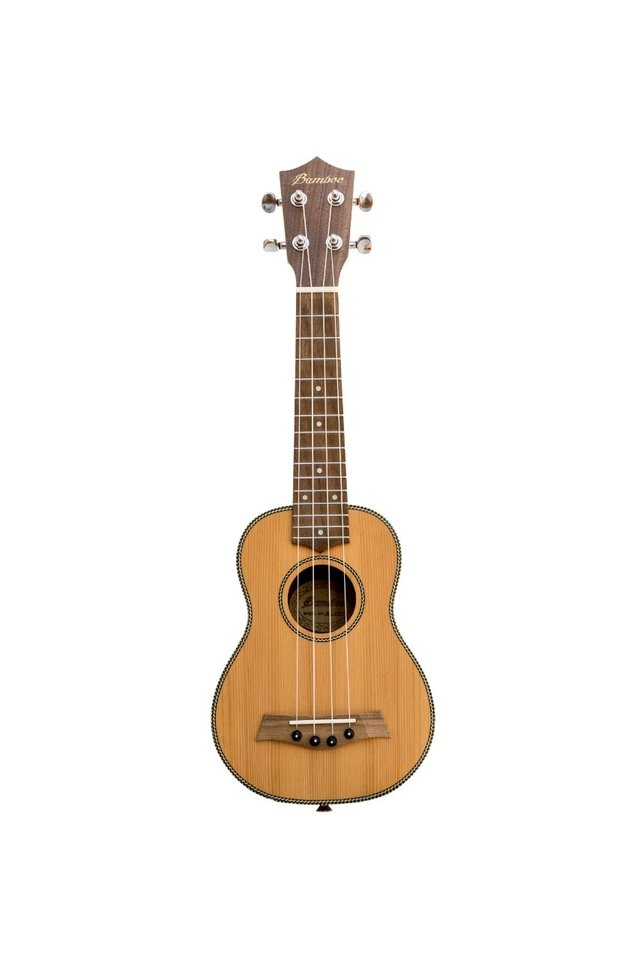 Solid Cedar wood Soprano Ukulele (Includes bag) - buy online