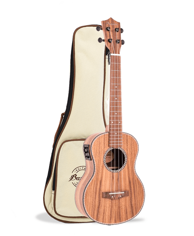 Koa wood Concert Ukulele w/eq (Includes bag) - BAMBOO • Shop Online