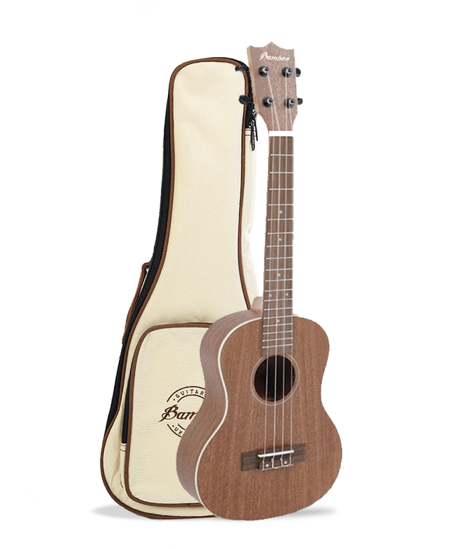 SAPELE wood tenor Ukulele  (Includes bag) - BAMBOO • Shop Online