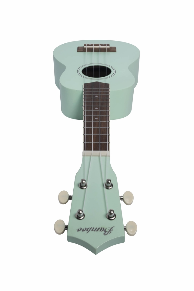 Soprano Ukulele Light Green Mahogany wood - online store