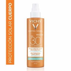 Capital Soleil Spray Beach Protect Anti Deshidratación FPS 30 Vichy - comprar online