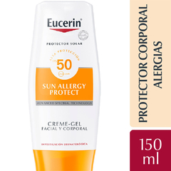 Eucerin Protector Solar Allergy Protect Crema Gel Facial y Corporal FPS50 150ml