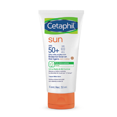 Cetaphil Sun Ultra Matte & Oil Control FPS 50+ con Color x50ml