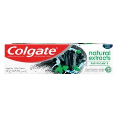 Colgate Natural Extracts Carbon y Mental Crema Dental 90g