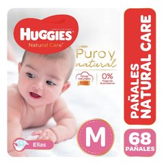 Huggies Natural Care Pack Ahorro ELLAS
