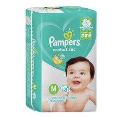 Pampers Pañales Confort Sec en internet