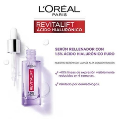 Serum L'oréal Paris Revitalift Acido Hialurónico x 30ml en internet