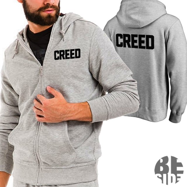 Campera Creed Rocky  Gris