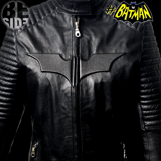Campera de cuero Batman Girl