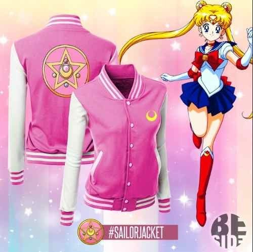 Universitaria Sailor Moon // Jacket // Anime // Geek // Cool - comprar online