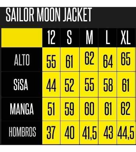 Imagen de Universitaria Sailor Moon // Jacket // Anime // Geek // Cool