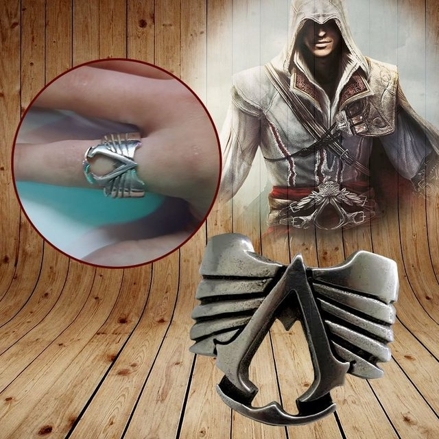 Anillo Assassins Plata