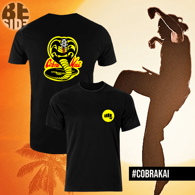 Remeras Cobra Kai en internet