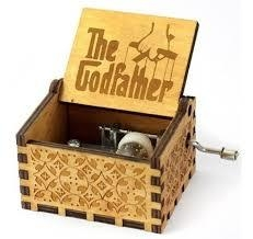 Caja musical padrino, god father en internet