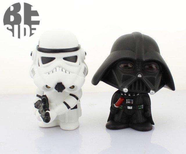 Set x 2 figuras star wars Bubble Head en internet