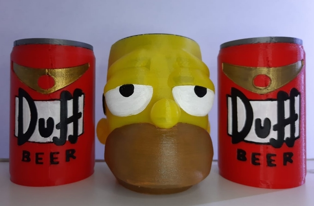 Set de mate Homero Duff