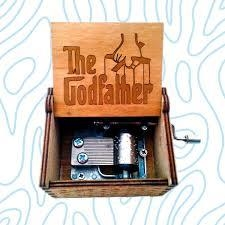 Caja musical padrino, god father - comprar online