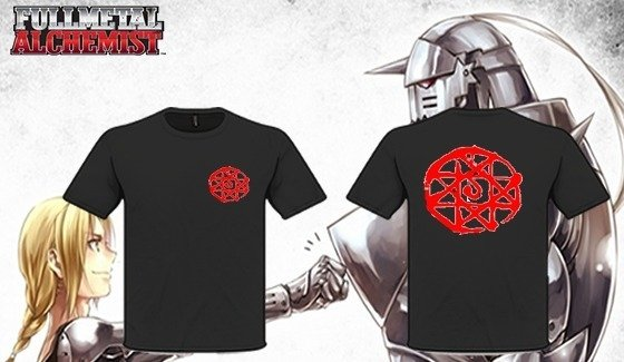 Remera full metal alphonse