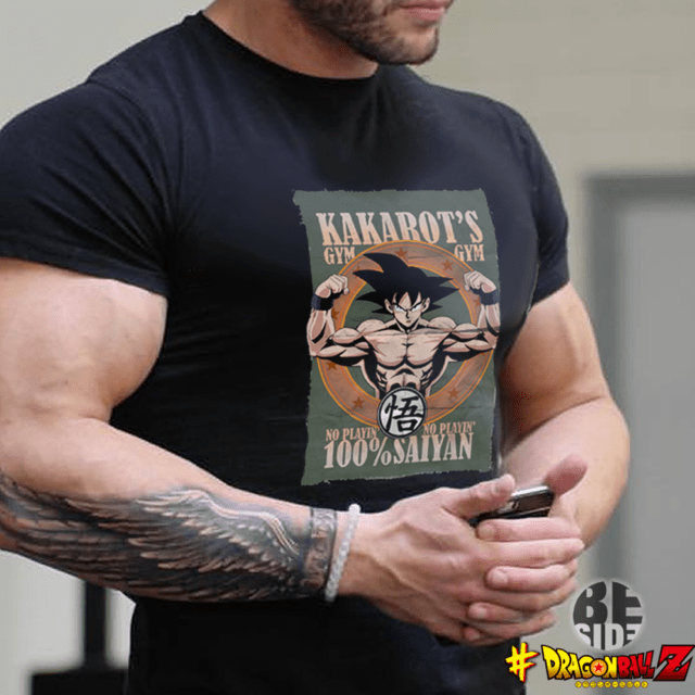 Remera Kakaroto Gym Dragon Ball