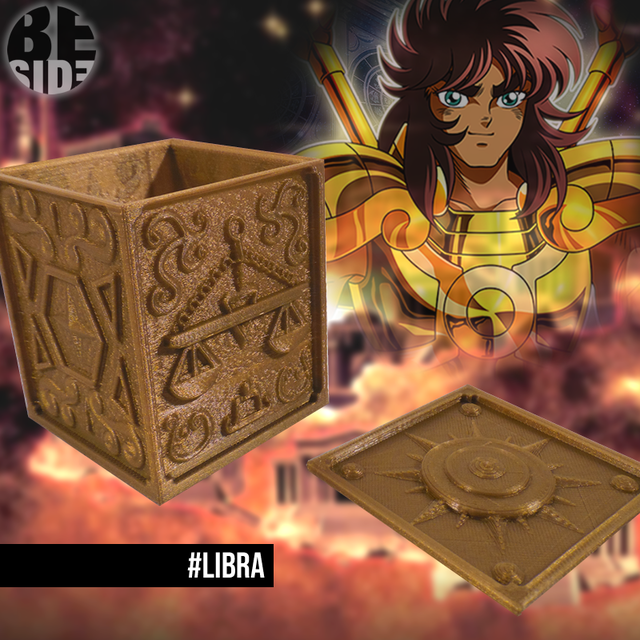 Organizadores Saint Seiya, Pandora Box - BeSide