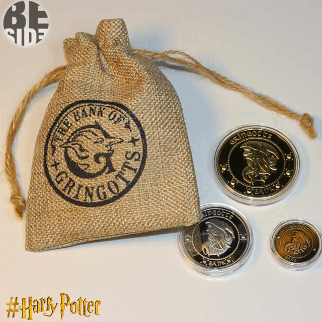 Monedas Mágicas Harry Potter
