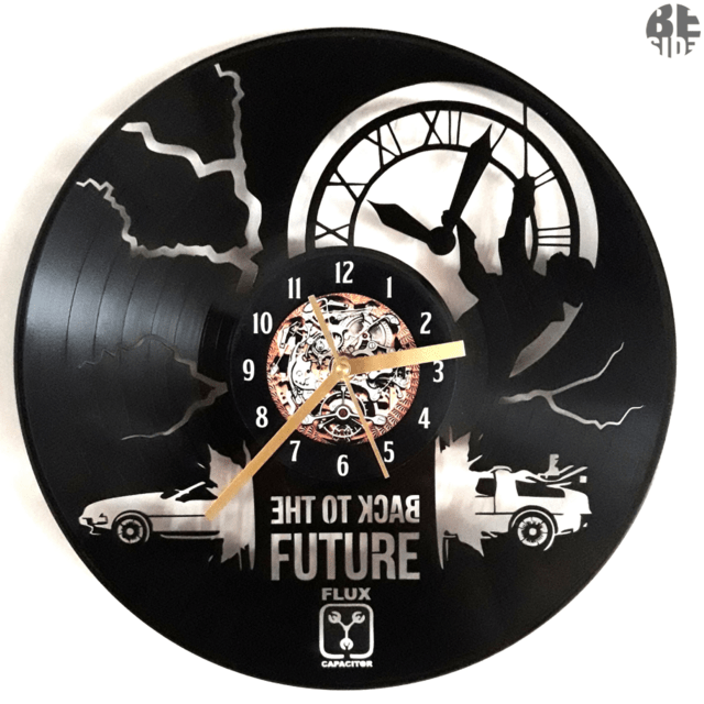 Reloj  Back To The Future, (volver al futuro)