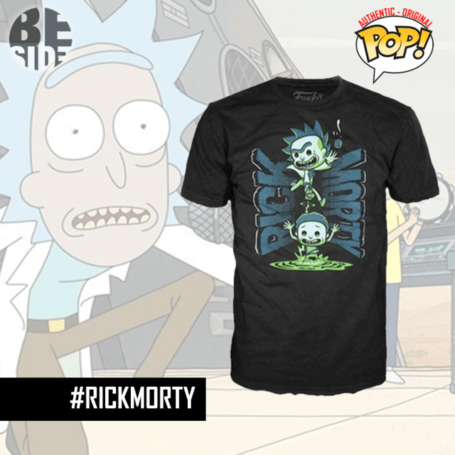 Remera Oficial Funko Pop Rick and Morty