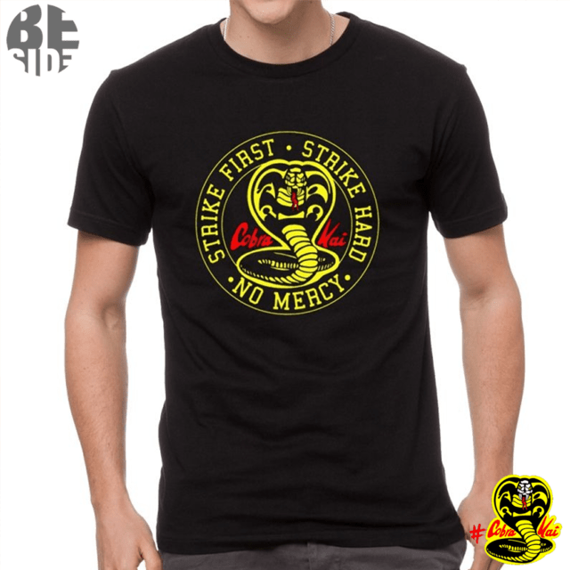 Remeras Cobra Kai