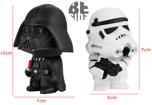Set x 2 figuras star wars Bubble Head - comprar online